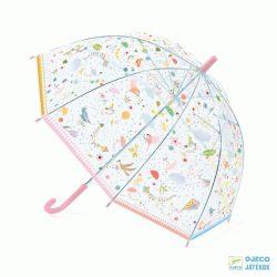 Tavaszi könnyedség Djeco gyerek apró mintás esernyő