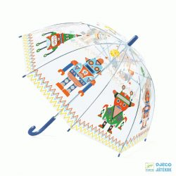 Robotos Djeco gyerek esernyő