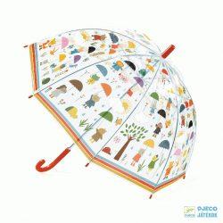 Az esőben Djeco gyerek esernyő