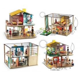 Djeco dollhouse, cubic house babaház